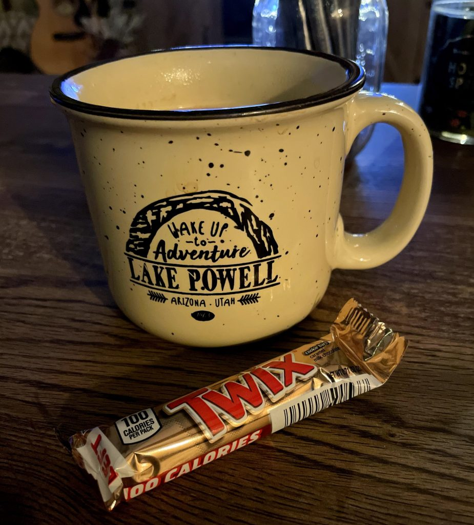 Hot Chocolate and a Twix